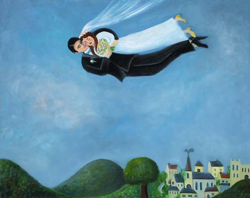 Wedding in the Sky